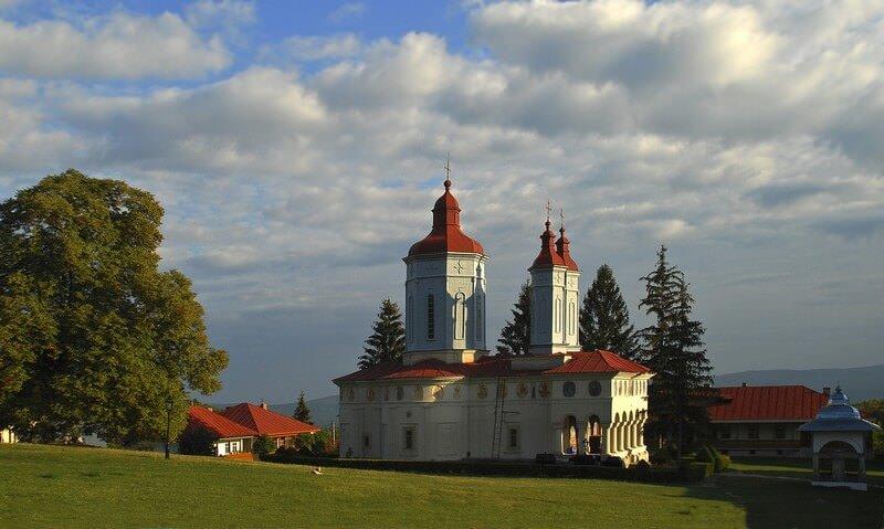 Monastère Ciolanu comté de Buzau