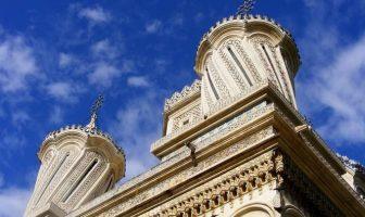 Monastère curtea de arges en roumanie