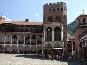 Monastère rila Tour Hreljo