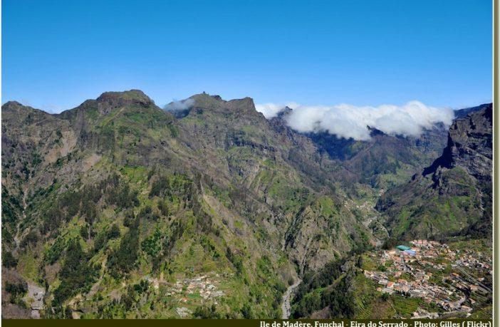 Montagnes Ile Madère Madera