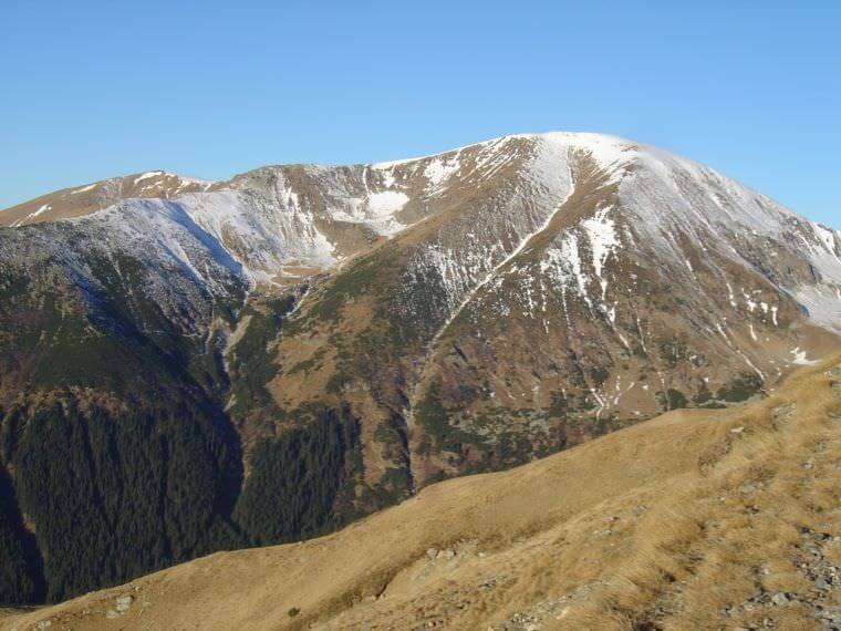 Montagnes en Roumanie
