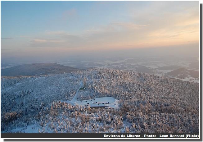 Montagnes pres de Liberec