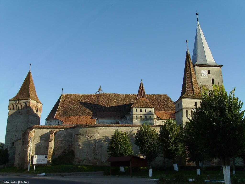 Mosna église fortifiée de Transylvanie