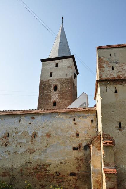 Mosna clocher de l'église du village saxon