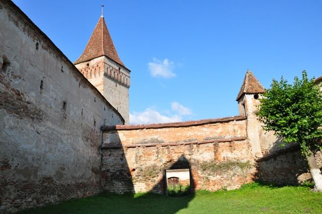 Mosna fortifications du village saxon