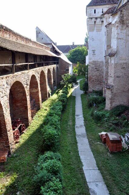 Mosna intérieur du village saxon