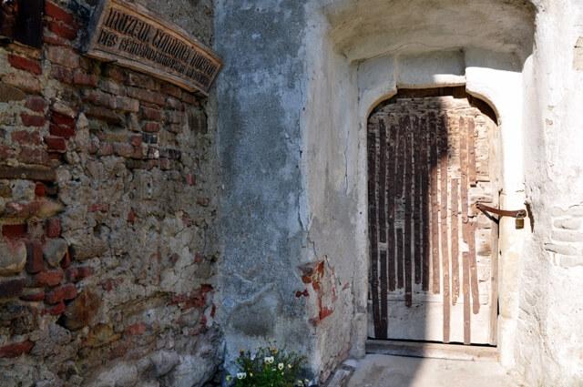 Mosna village saxon porte d'entrée du musée