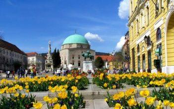 Mosquée à Pec en Hongrie