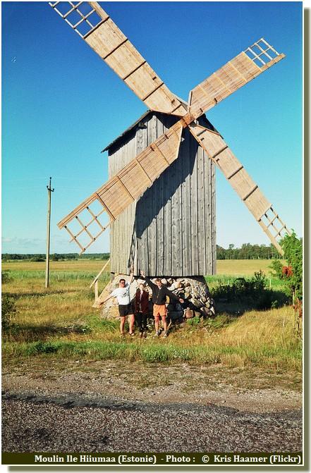 Moulin Ile Hiiumaa Estonie