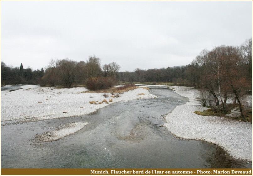Munich Flaucher bords de l'Isar