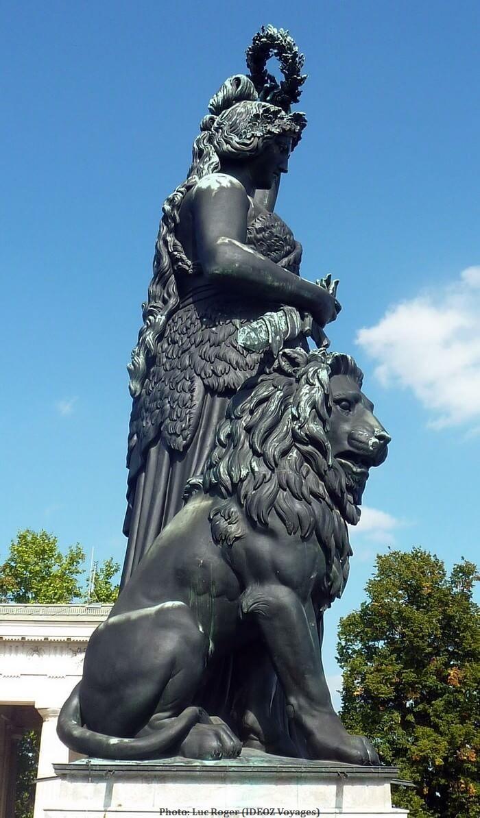 Munich statue Madame Bavaria