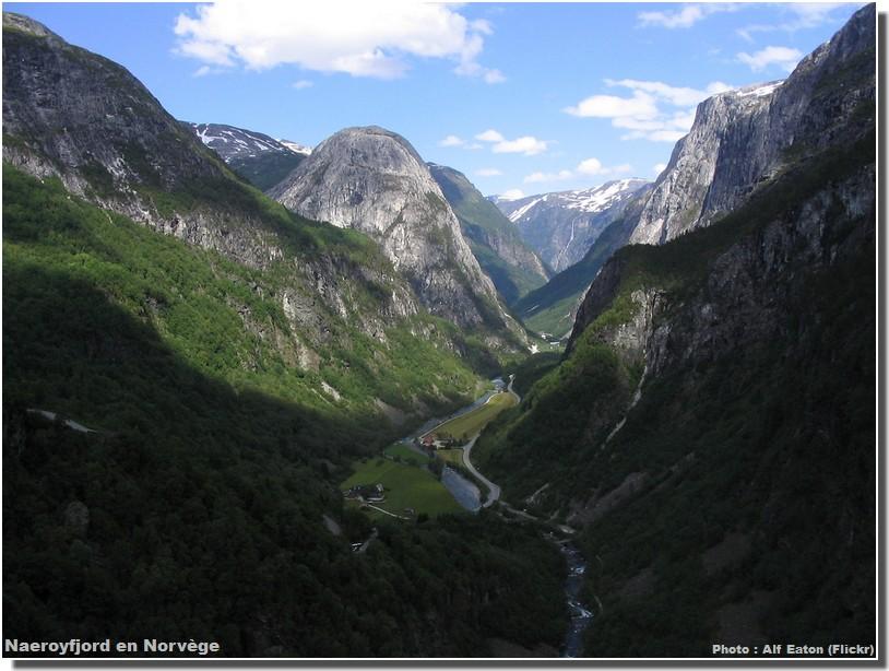 Naeroyfjord Norvege