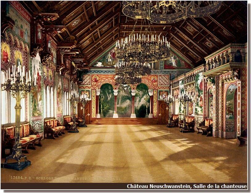 Neuschwanstein salle de la chanteuse