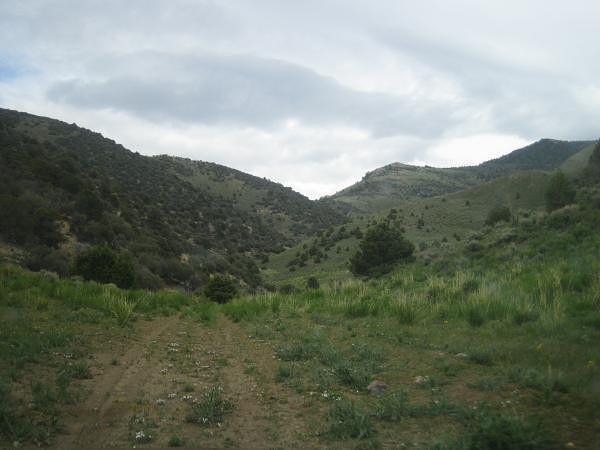 Nevada piste déserte