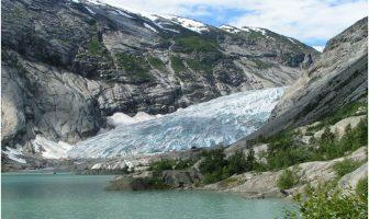 Glacier Nigardsbreen en Norvège