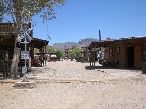 Old Tucson Studio décors de western