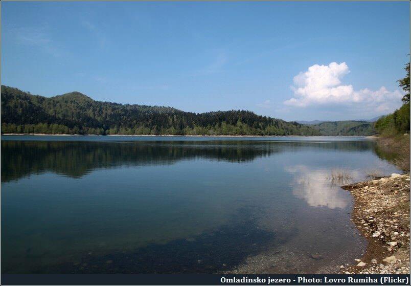 Omladinsko jezero dans le Gorski Kotar