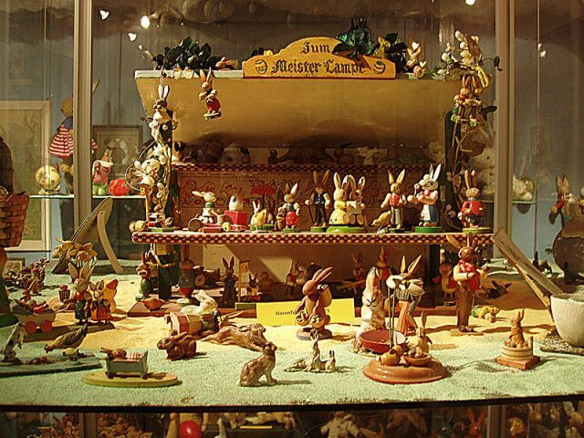 Osterhase munich Zentrum fur Aussergewohnliche Museen