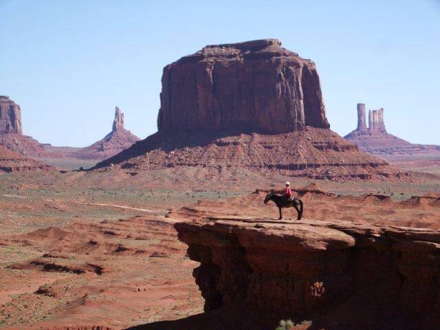 Parc Monument Valley ouest américain