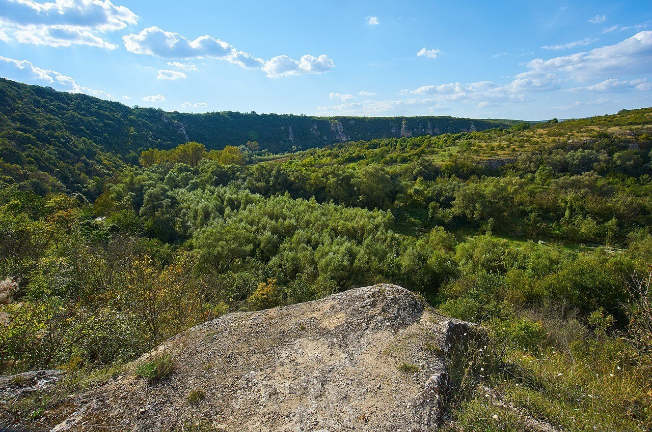 Parc naturel de Rusenski Lom à Ivanovo