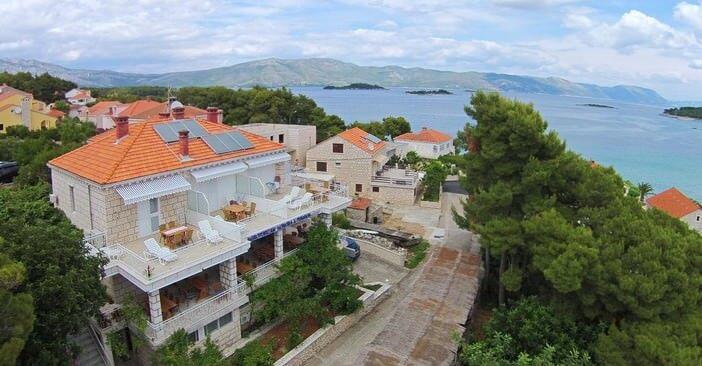 Pension Lovric à Lumbarda : se loger chez l'habitant à Korcula (Croatie)