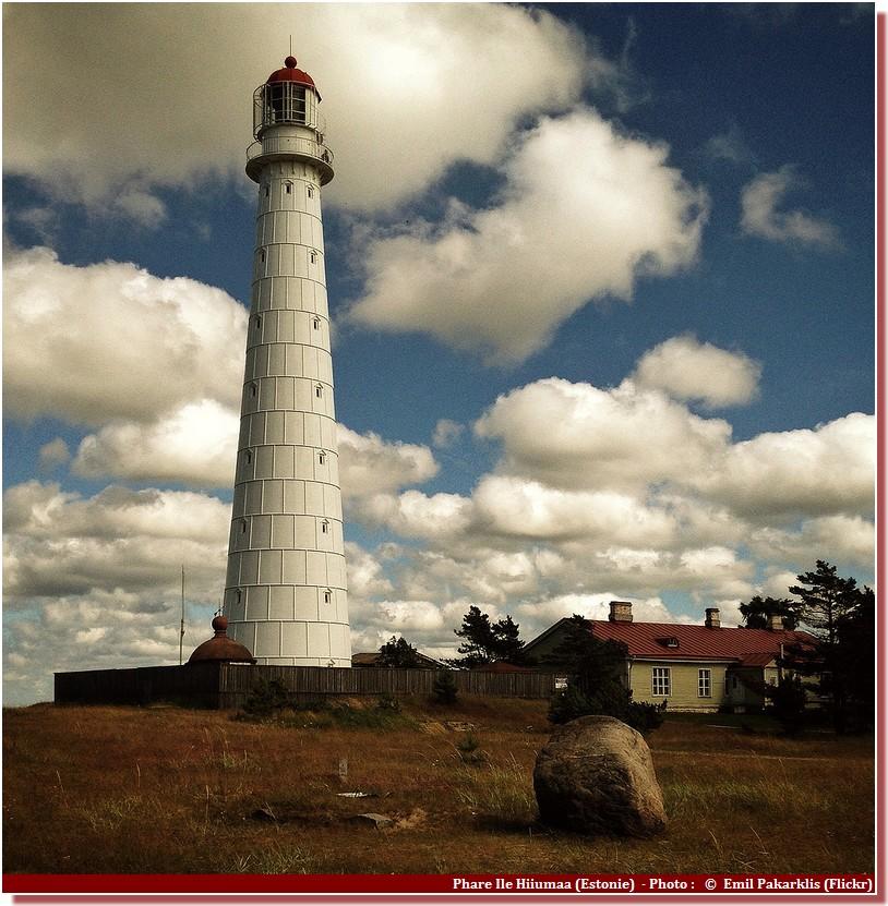 Phare Ile Hiiumaa Estonie