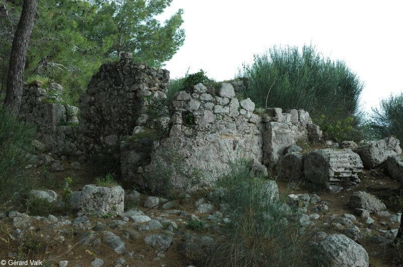Phaselis ruines