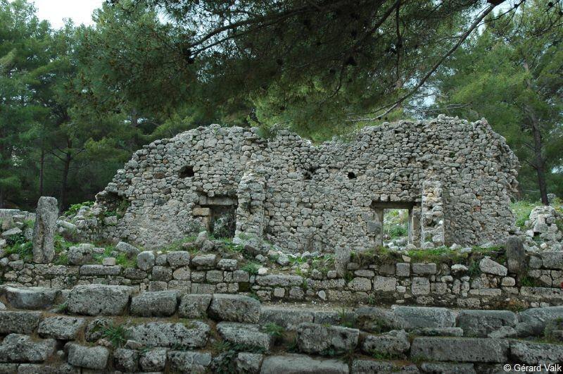 Phaselis site archéologique