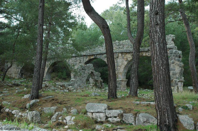 Phaselis vestiges romains