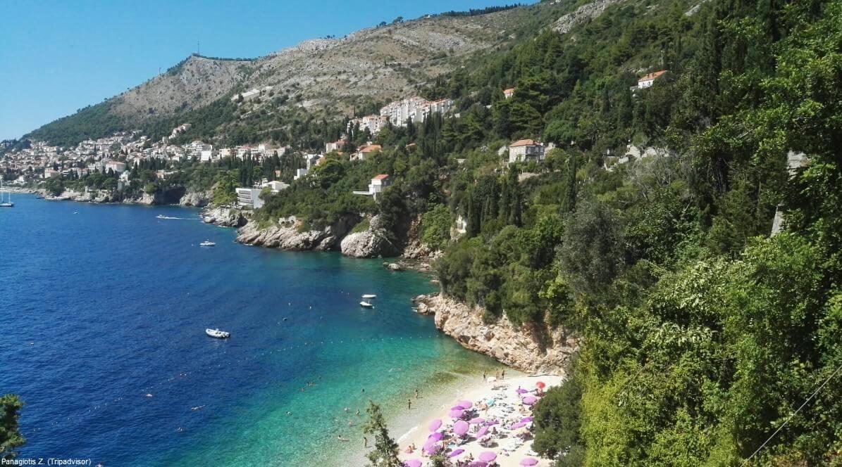 Plage de Sveti Jakov à Dubrovnik