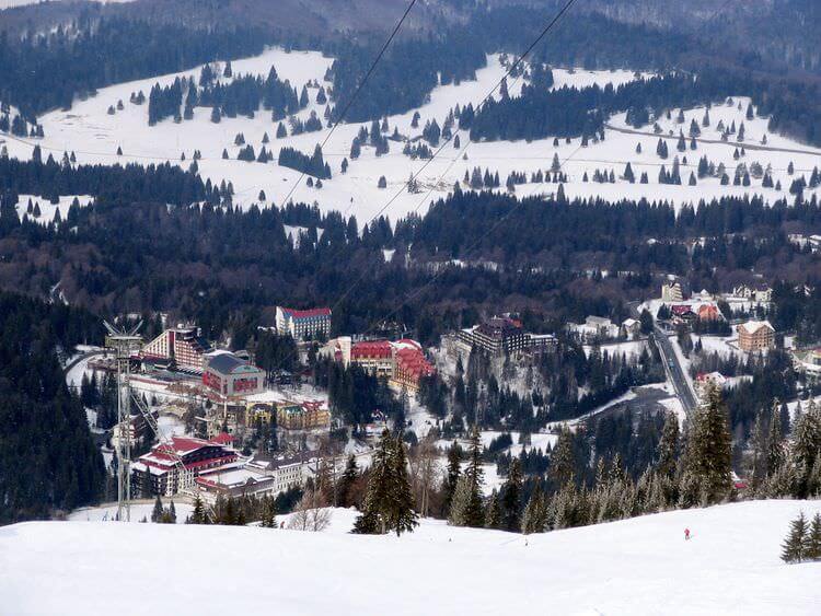 Ponaia Brasov station de ski en Transylvanie