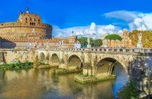 Pont sur le tibre à rome
