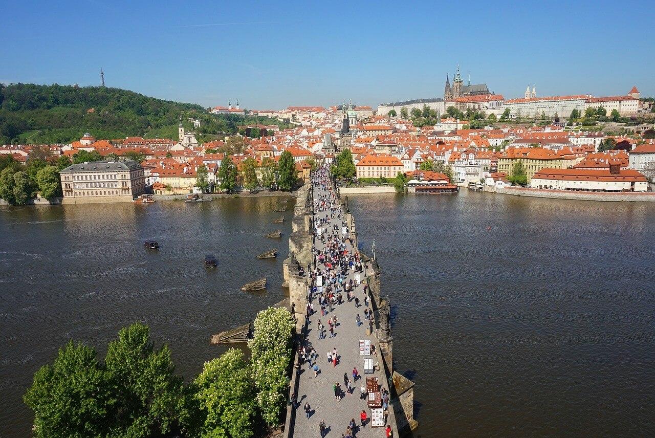 Prague Mala strana et pont charles