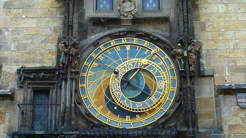 Prague vieille ville Horloge astronomique