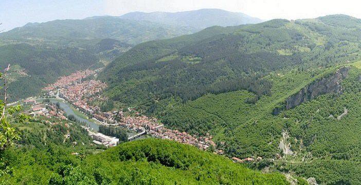 Prijepolje en Serbie occidentale