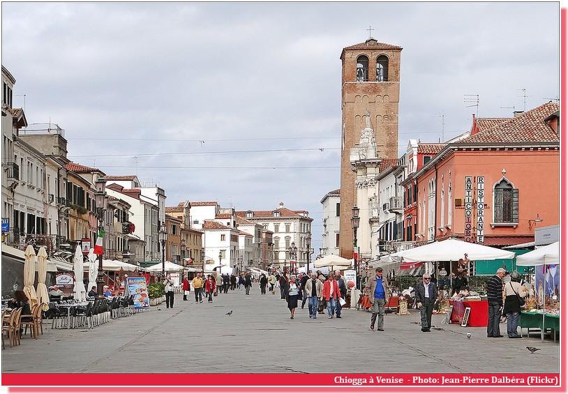 Promenade Chioggia Venise