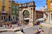 Pula centre historique