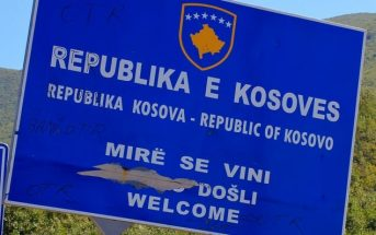 republique kosovo frontiere