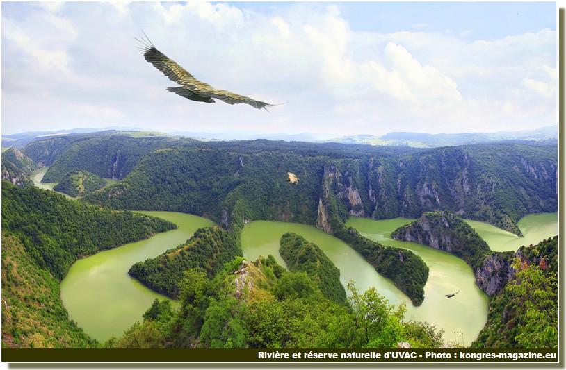 Reserve naturelle Uvac Serbie