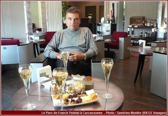 Restaurant Le Parc de Franck Putelat salon
