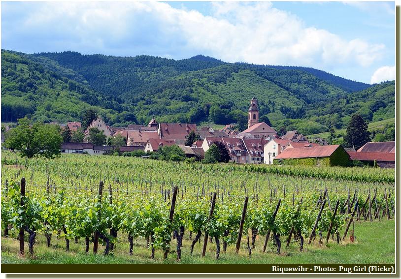 Riquewihr, l'un des plus beaux villages de France (Tourisme Alsace)