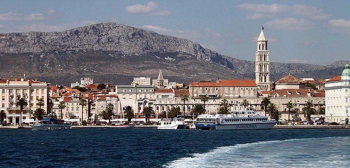 riva split croatie