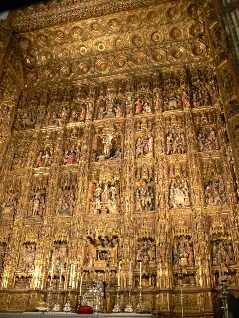 Séville chapelle royale de la Cathédrale