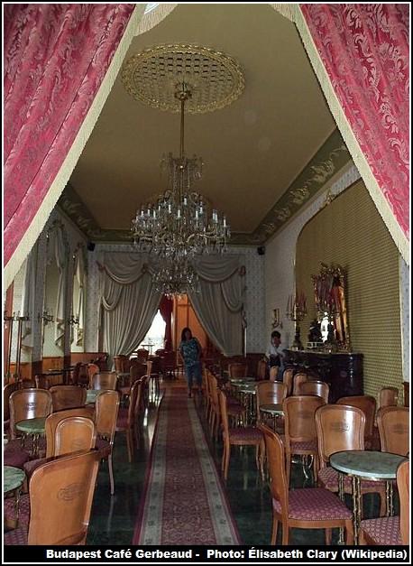 Salon Patisserie Gerbeaud Budapest