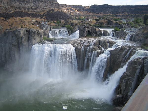 Shoshone Falls Niagara de l'ouest