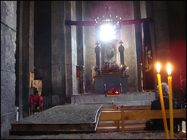Sissian  Eglise Saint Jean intérieur