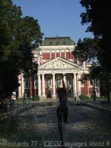 Sofia théâtre national Ivan-Vazov