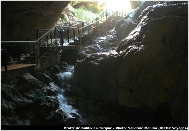 Sortie grotte Kaklk Turquie