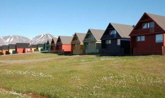 Spitzberg maisons de bois