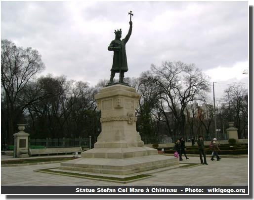 Statue Stefan Cel Mare Chisinau